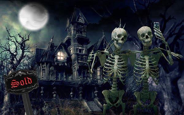 Halloween for sale house