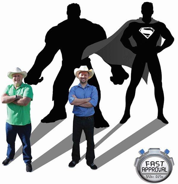 superhero men