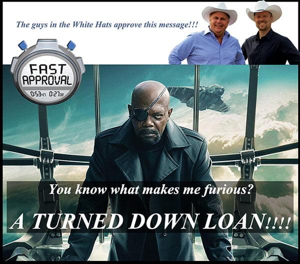 Loan Turned Down Elsewhere We Can Help
