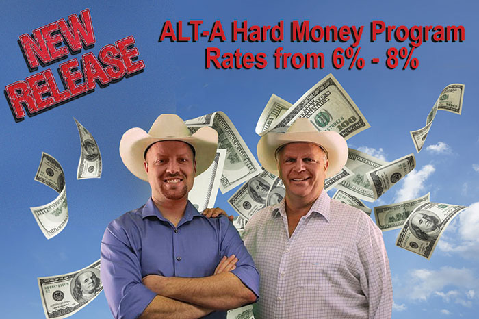 New Release! Alt-A Financing
