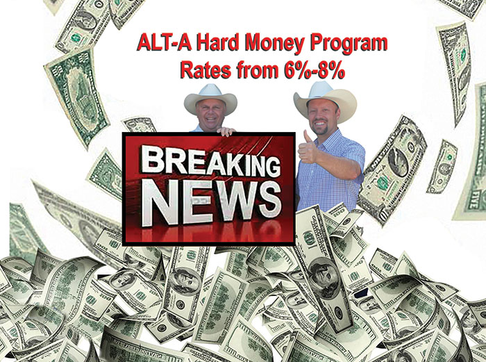 Breaking News: New Loan Program