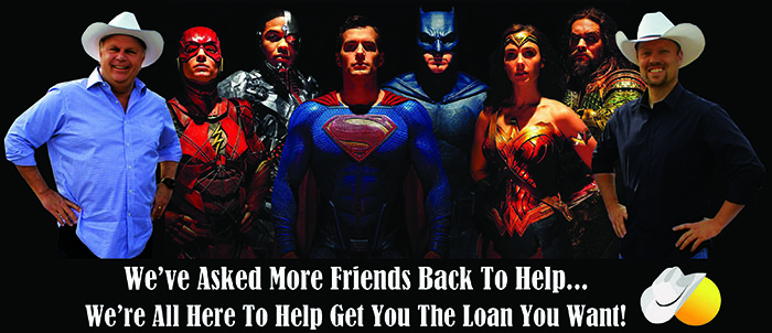 April Guys with Superman heros
