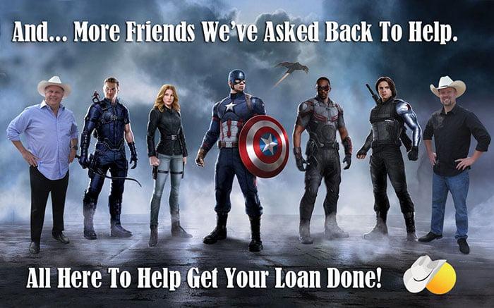 all here avengers